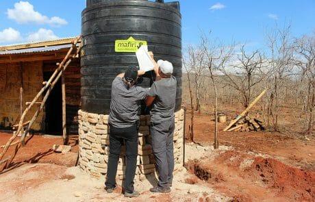 Mafiri water tank for water sales