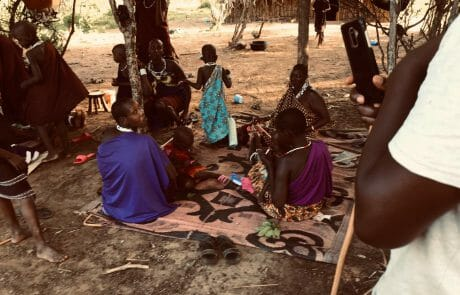 Visit to the neighbours – the Maasai